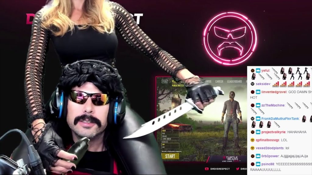 DrDisrespect with his wife - Mrs. Assasin