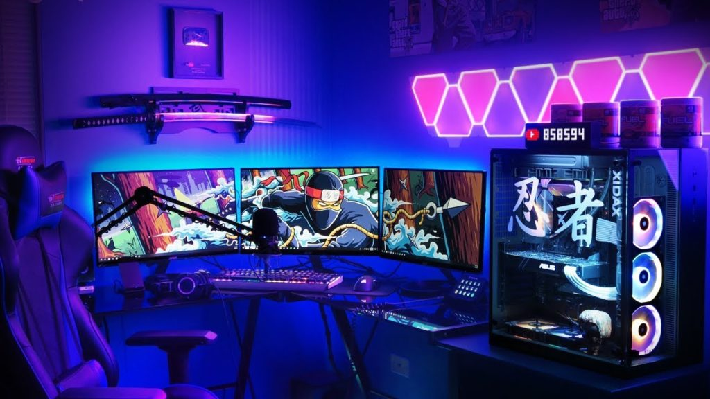 What is Ninja gaming set-up?